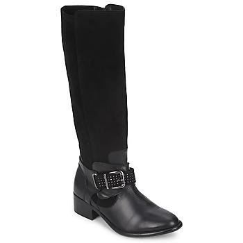 Schoenen Dames Hoge laarzen Betty London ADELINE Zwart
