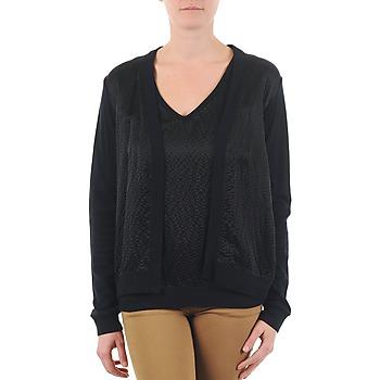 Textiel Dames Vesten / Cardigans Majestic 238 Zwart