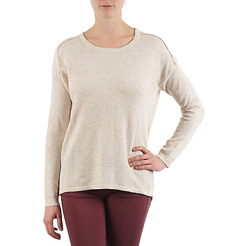 Textiel Dames Truien Color Block 3265194 Beige