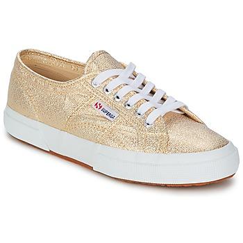 Schoenen Dames Lage sneakers Superga 2751 LAMEW Goud