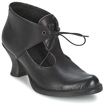 Schoenen Dames Enkellaarzen Neosens ROCOCO COLA Zwart