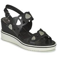 Schoenen Dames Sandalen / Open schoenen Tamaris MAGDA Zwart