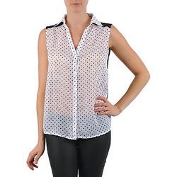 Textiel Dames Overhemden La City O DEB POIS Wit