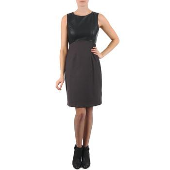 Textiel Dames Korte jurken La City RTANIA Zwart / Grijs