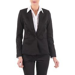 Textiel Dames Jasjes / Blazers La City VBASIC Zwart