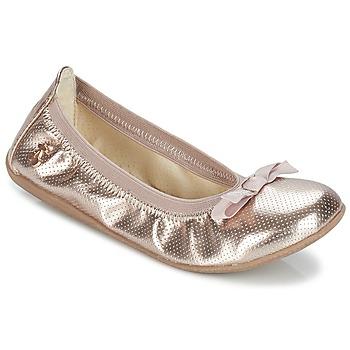 Schoenen Meisjes Ballerina's Le Temps des Cerises LILOU Goud