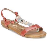 Schoenen Dames Sandalen / Open schoenen Le Temps des Cerises CARLY CORAIL CORAIL