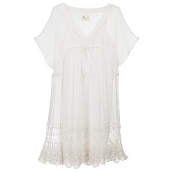 Textiel Dames Korte jurken Stella Forest ARO035 Ecru