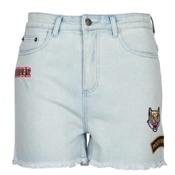 Textiel Dames Korte broeken / Bermuda's American Retro BORIS Blauw