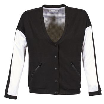 Textiel Dames Wind jackets American Retro CHARONNE Zwart / Wit