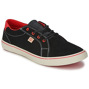 Schoenen Dames Lage sneakers DC Shoes COUNCIL W Zwart / Rood