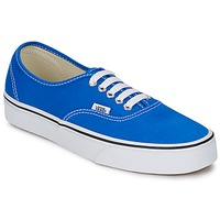 Schoenen Lage sneakers Vans AUTHENTIC Blauw / Wit