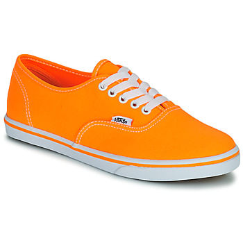 Schoenen Dames Lage sneakers Vans AUTHENTIC LO PRO Orange / Pop