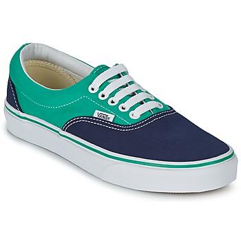 Schoenen Lage sneakers Vans ERA Blauw / Groen