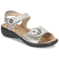 Schoenen Dames Sandalen / Open schoenen Romika IBIZA 67 Zilver