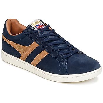 Schoenen Heren Lage sneakers Gola EQUIPE SUEDE Marine / Brown