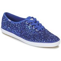 Schoenen Dames Lage sneakers Keds CHAMPION GLITTER Blauw