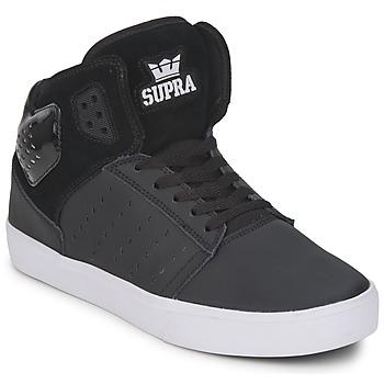 Schoenen Heren Hoge sneakers Supra ATOM Zwart / Wit