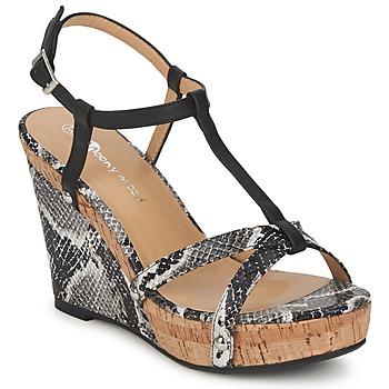 Schoenen Dames Sandalen / Open schoenen Moony Mood NILO Zwart