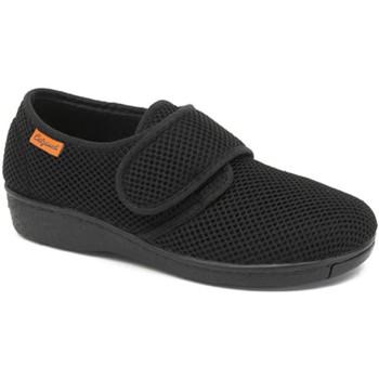 Schoenen Dames Lage sneakers Calzamedi POSTOPERATORIO DOMESTICO NEGRO