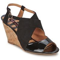 Schoenen Dames Sandalen / Open schoenen Chocolate Schubar ELVINA Zwart