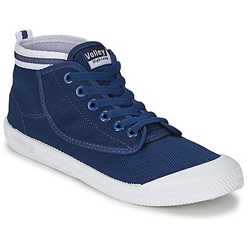 Schoenen Heren Hoge sneakers Volley HIGH LEAP NAVY / Wit