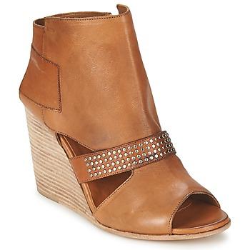 Schoenen Dames Enkellaarzen OXS SPORT-320 Brown