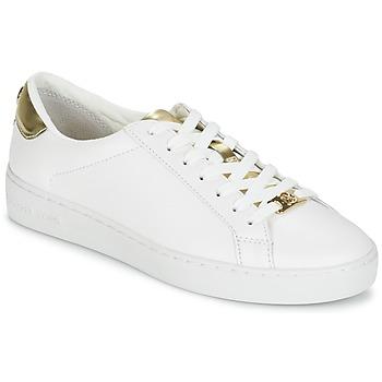 Schoenen Dames Lage sneakers MICHAEL Michael Kors IRVING Wit / Goud