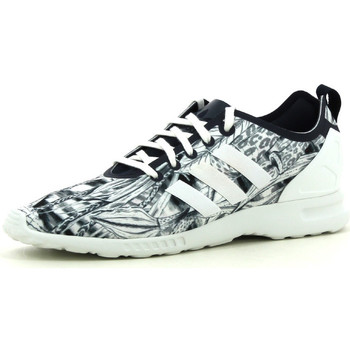 Schoenen Dames Lage sneakers adidas Originals ZX Flux smooth Grijs