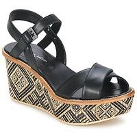 Schoenen Dames Sandalen / Open schoenen Stéphane Kelian BELLA 7 Zwart