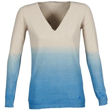 Textiel Dames Truien Gas DESHI Beige / Blauw