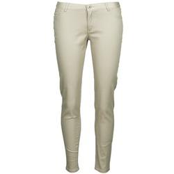 Textiel Dames 5 zakken broeken Little Marcel PRANTI Beige
