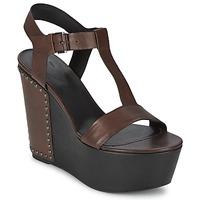 Schoenen Dames Sandalen / Open schoenen Vic GIBSON Brown