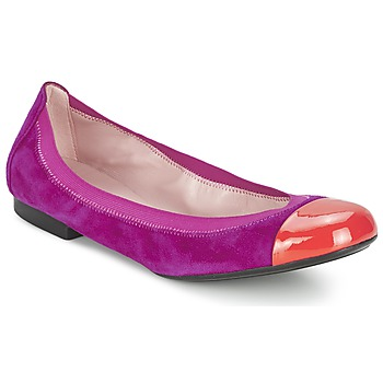 Schoenen Dames Ballerina's Pretty Ballerinas HONEY Violet