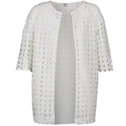 Textiel Dames Mantel jassen Brigitte Bardot BB44197 Wit