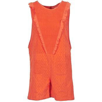 Textiel Dames Jumpsuites / Tuinbroeken Brigitte Bardot BB44084 Corail
