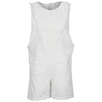 Textiel Dames Jumpsuites / Tuinbroeken Brigitte Bardot BB44084 Wit