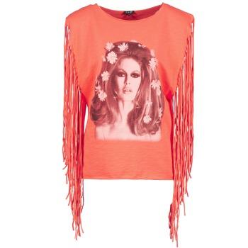 Textiel Dames Mouwloze tops Brigitte Bardot BB44075 Corail