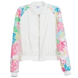 Textiel Dames Jacks / Blazers Brigitte Bardot BB44045 Wit / Multicolour