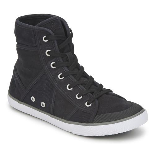 Schoenen Dames Hoge sneakers TBS VELUTA Zwart