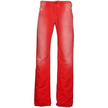 Textiel Heren Straight jeans Diesel SAFADO Rood