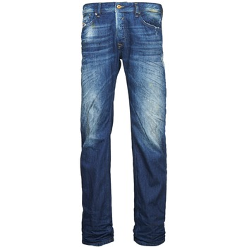 Textiel Heren Straight jeans Diesel WAYKEE Blauw