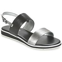 Schoenen Dames Sandalen / Open schoenen JB Martin LOU Zwart / Zilver