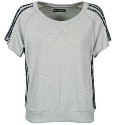 Textiel Dames T-shirts korte mouwen Religion B114HRW02 Grijs