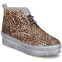 Schoenen Dames Hoge sneakers Ylati BAIA F Leopard