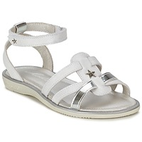 Schoenen Meisjes Sandalen / Open schoenen Mod'8 HOPAL Wit
