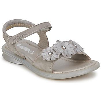 Schoenen Meisjes Sandalen / Open schoenen Mod'8 JUKA Zilver