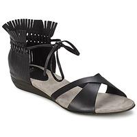 Schoenen Dames Sandalen / Open schoenen Fru.it TRIVENTA Zwart