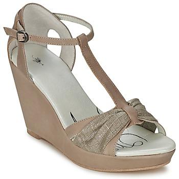Schoenen Dames Sandalen / Open schoenen One Step CEANE Taupe / Dorée / Taupe