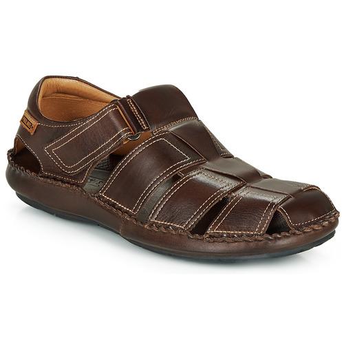 Schoenen Heren Sandalen / Open schoenen Pikolinos TARIFA 06J Brown